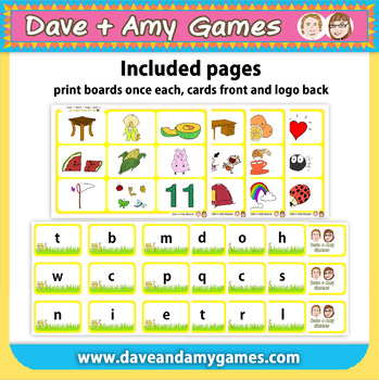 Read 'n Match: ABC Phonics C
