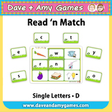 Read 'n Match: ABC Phonics D