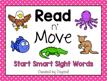 Read n' Move Wonders Sight Word PowerPoint Start Smart