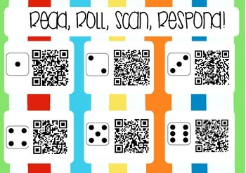 QR Code Book Response: Read, roll, scan, respond