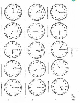 Read that Clock Telling Time