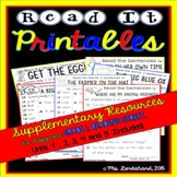 READING STREET Supplementary Read the 1st Grade Words Reso