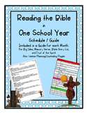 Read the Bible in One Year Schedule
