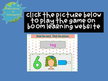 Read the CVC Word 20 Self Checking Boom Learning Cards