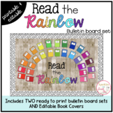 Read the Rainbow Bulletin Board {Elementary & Picture Books}