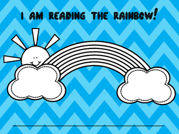 Read the Rainbow:  Sight Words