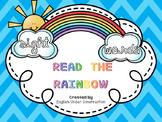 Read the Rainbow:  Sight Words