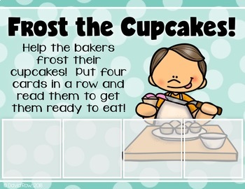 Read the Rhythm to Bake the Cupcakes - Rhythm Centers