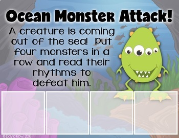 Read the Rhythm to Defeat the Monsters - Rhythm Centers