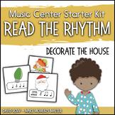 Read the Rhythm to Earn the Decorations - Christmas Rhythm Centers