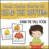 Read the Rhythm to Earn the Fall Food - Thanksgiving Rhyth