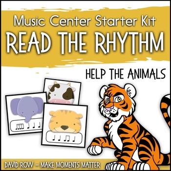 Read the Rhythm to Help the Animals - Rhythm Centers