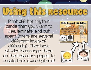 Read the Rhythm to Save the Galaxy for Rhythm Centers