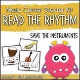 Read the Rhythm to Save the Music - Rhythm Centers