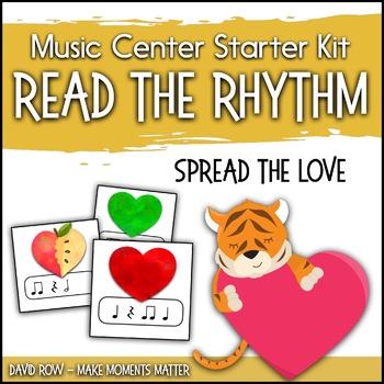 Read the Rhythm to Spread the Love - Valentine's Day Rhythm Centers
