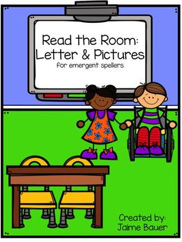 Read the Room Activities for Emergent Spellers