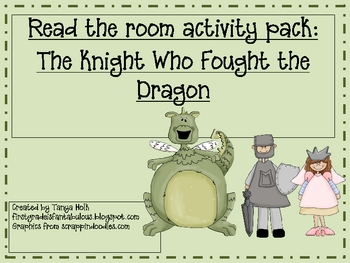 """Read the Room Activity Pack: """"The Knight Who Fought the Dragon"""""""
