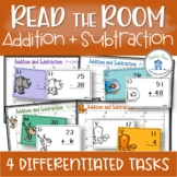 Addition and Subtraction Tasks Read the Room Grade One and