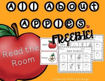 Read the Room: Apples! FREEBIE