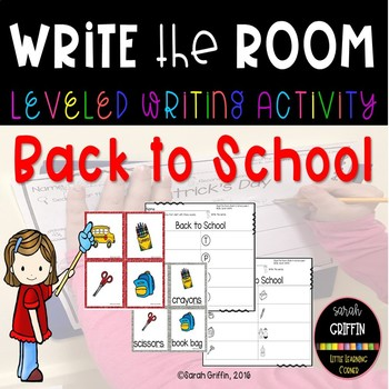 Read and Write the Room - Back to School Writing Center