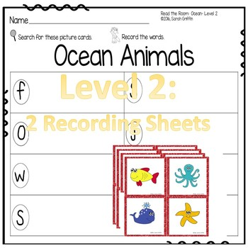 Read and Write the Room - Ocean Animals