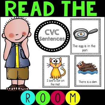 Read the Room CVC Sentences