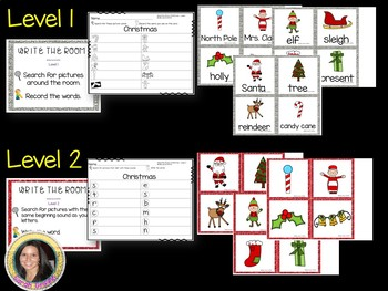 Read and Write the Room - Christmas - SCOOT Activity