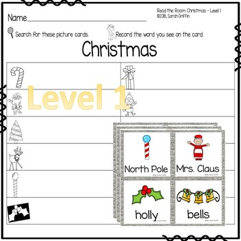 Write the Room - Christmas Writing Center