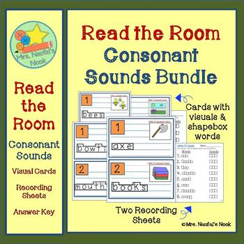 Read the Room Consonant Sounds