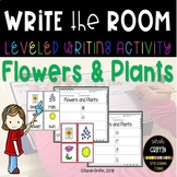 Write the Room - Flowers and Plants - writing center