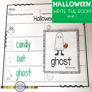 Read and Write the Room - Halloween SCOOT Center
