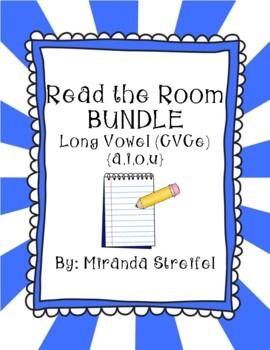 Read the Room Long Vowel BUNDLE {Long a,i,o,u CVCe}