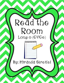 Read the Room Long o_e CVCe
