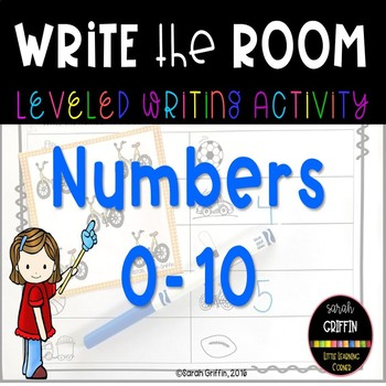 Read and Write the Room - Numbers