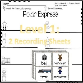 Read the Room - Polar Express - Scoot Activity