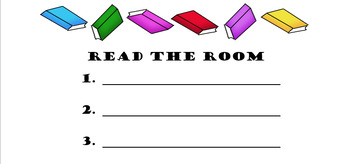 Read the Room- Preprimer Dolch Sight Words