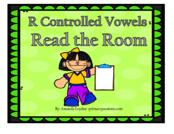 Read the Room R Controlled Vowels