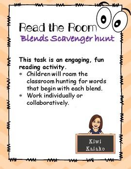 Read the Room: Scavenger Hunt for Blends