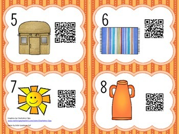 Read the Room Short u Words with QR Codes
