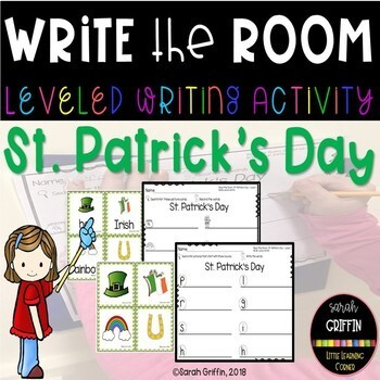 Write the Room - St. Patrick's Day - Scoot Center