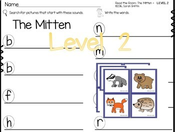 Read and Write the Room - The Mitten - SCOOT center