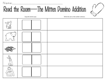 Read the Room-The Mitten Domino Addition