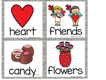Read and Write the Room - Valentines Day - SCOOT Activity