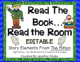 Read the Room With Characters From A Mitten Story!  EDITABLE