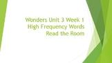 Read the Room Wonders Unit 3 Week 1- First Grade
