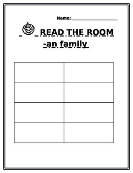 """Read the Room- """"an"""" word family"""