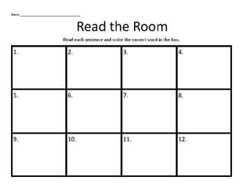 Read the Room-ee Reading Street Unit 2 Week 6