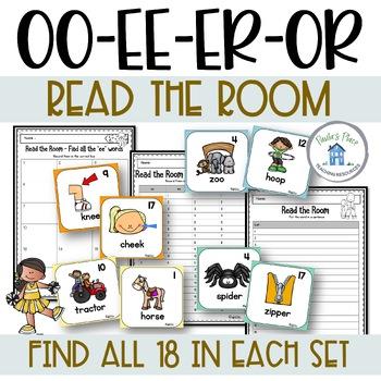 Read the Room – oo, ee, or, er