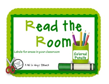 Read the Room:FREE Labels for the classroom