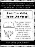 Read the Verbs, Draw the Verbs!